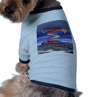 : Onda ligera 5: Productos del diseñador por Crick Camiseta De Perrito