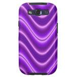 Onda púrpura brillante galaxy SIII cárcasas