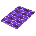 Onda púrpura cubierta de iPad