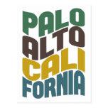 Onda retra de Palo Alto California Postal