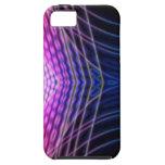 Onda rosada del vector iPhone 5 Case-Mate protector