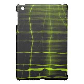 Onda verde, amarilla del relámpago - caso del ipad