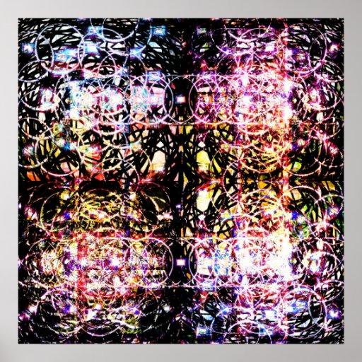 Ondas 6 del cristalito poster
