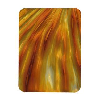 Ondas ambarinas metálicas del grano imanes de vinilo