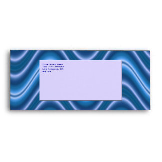 ondas azules del blanco