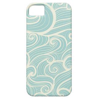 Ondas azules iPhone 5 Case-Mate carcasas