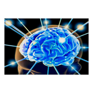Ondas cerebrales póster