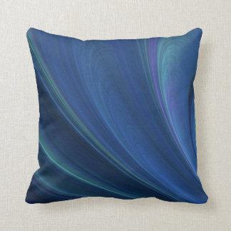 Ondas de arena suaves azules y verdes almohadas