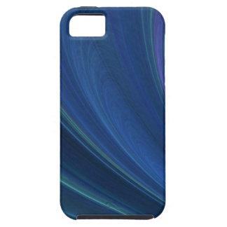 Ondas de arena suaves azules y verdes iPhone 5 carcasas