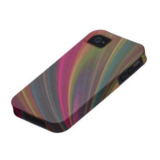 Ondas de arena suaves coloridas Case-Mate iPhone 4 carcasas