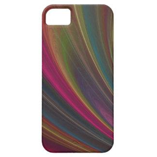 Ondas de arena suaves coloridas iPhone 5 cárcasas