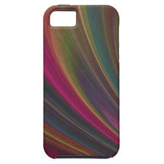 Ondas de arena suaves coloridas iPhone 5 carcasas