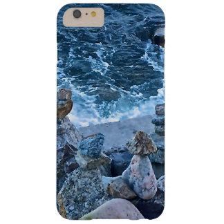 Ondas de fractura azules del océano funda de iPhone 6 plus barely there