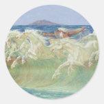 ONDAS DE HORSES RIDE THE DE REY NEPTUNO ETIQUETAS