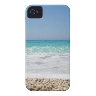 Ondas de Pebble Beach y del mar iPhone 4 Carcasa