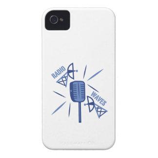 Ondas de radio Case-Mate iPhone 4 funda