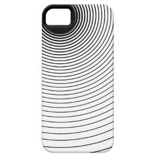 Ondas de radio iPhone 5 Case-Mate cárcasa