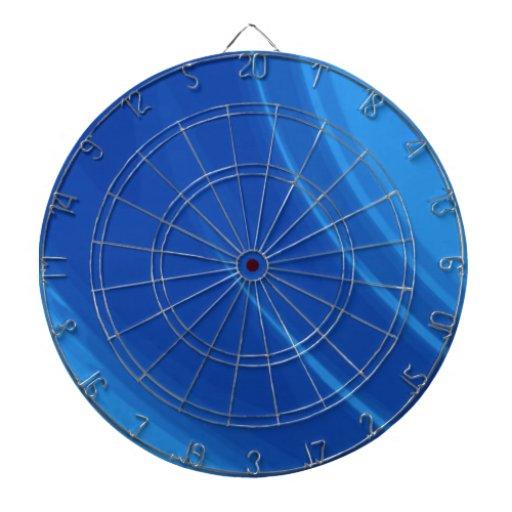 Ondas del azul real tabla dardos