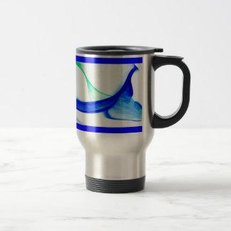 Ondas del extracto taza de café