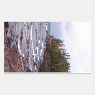 Ondas del lago Superior Rectangular Altavoces