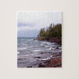 Ondas del lago Superior Rompecabeza