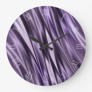 Ondas del negro de la lila reloj