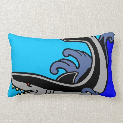 Ondas del tiburón almohada