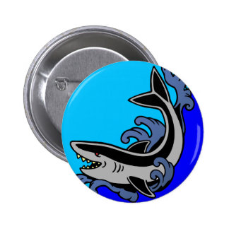 Ondas del tiburón pin