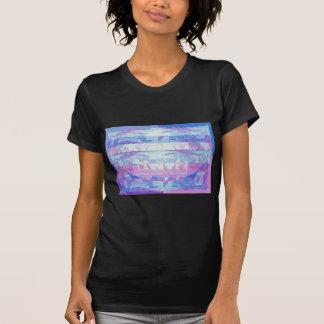 Ondas del vitral: Estilo de la firma de Navins Camiseta