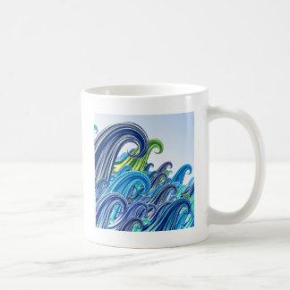 Ondas do Mar Coffee Mug