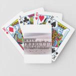 Ondas escénicas de la gaviota del mar del océano d baraja cartas de poker