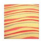 ondas frescas del modelo impresión de lienzo