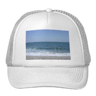 Ondas hermosas de la playa de Santa Mónica Gorra