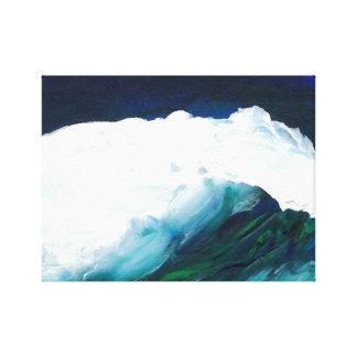 Ondas ideales del mar del paisaje marino del arte impresión en lona estirada