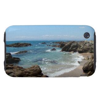 Ondas lentas del Pacífico Tough iPhone 3 Protector