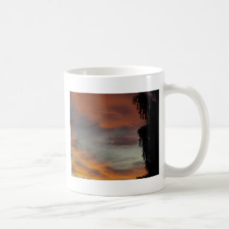 Ondas nubladas taza