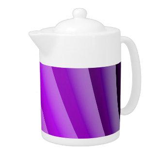 Ondas púrpuras del arte del dolor