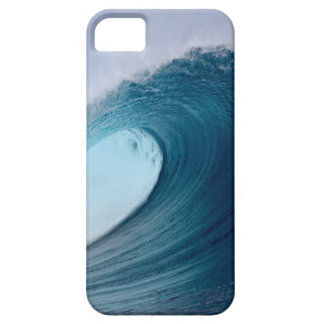 Ondas que practican surf del océano azul iPhone 5 coberturas