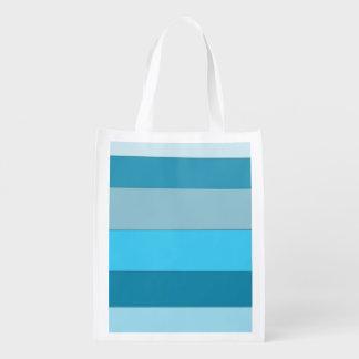 Ondas rectas bolsas de la compra