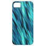 Ondas sedosas del Aquamarine iPhone 5 Case-Mate Protector