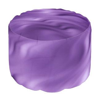 Ondas suaves púrpuras + sus ideas puf redondo