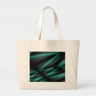 Ondas verdosas bolsas de mano