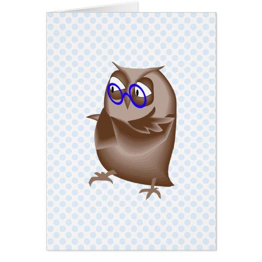Ondell Owl Card