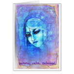 Ondine~Water Angel 'Serene, clam, relaxed' Greeting Cards