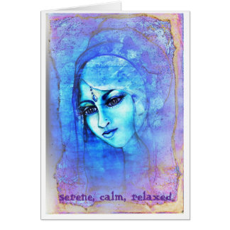 Ondine~Water Angel 'Serene, clam, relaxed' Card