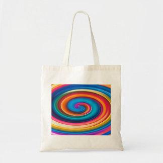 ondulación colorida bolsa