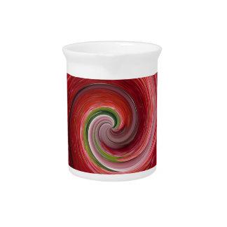 Ondulación de la fresa jarra para bebida