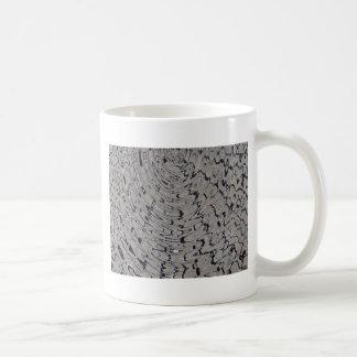 ondulación de la grieta del fango taza clásica