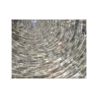 Ondulación del agua impresiones de lienzo