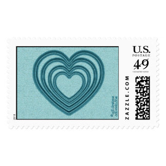 Ondulación del corazón (L-Trullo) Sello Postal